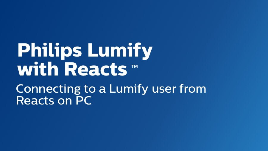 Connecting to lumify user form reacts on pc